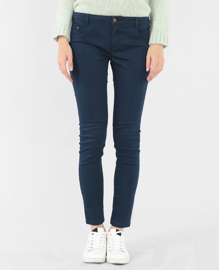 pantalon slim bleu marine 142017635a06 pimkie. Black Bedroom Furniture Sets. Home Design Ideas