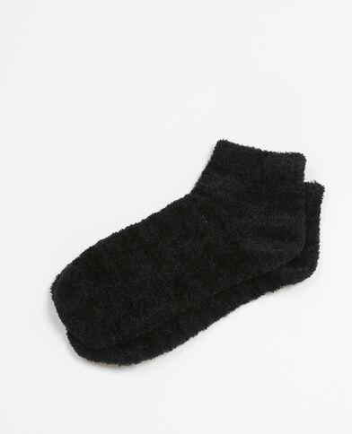 Chaussettes douces noir