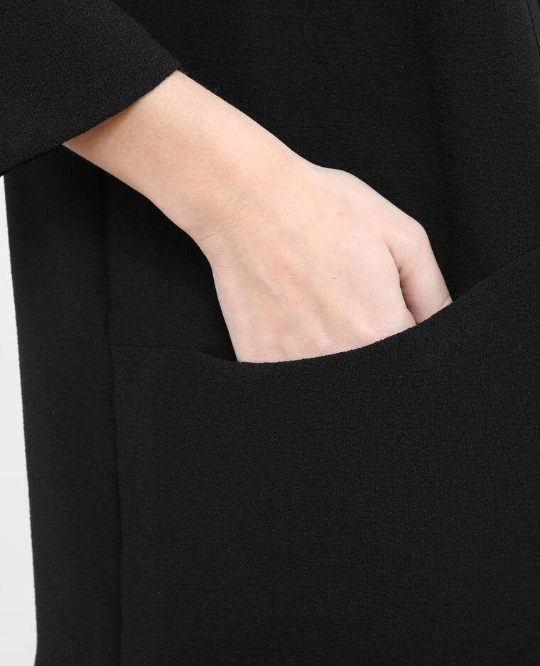 Giacca in crêpe nero