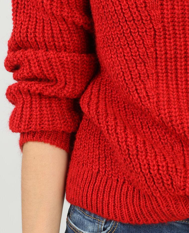 Pull grosse maille paillettes sequins (style Zara) Vends pull grosse maille paillettes sequins, manches 3/4, long sur l'avant plus court sur l'arrière Plusieurs tailles .