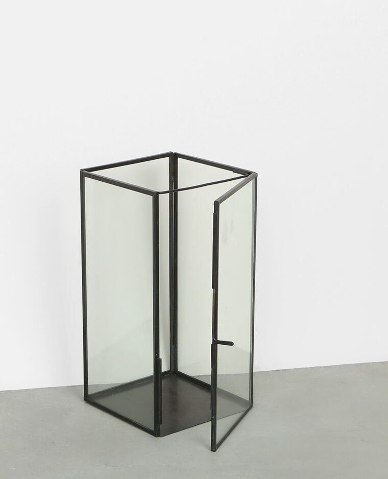 rechteckiges windlicht schwarz 975068899a08 pimkie. Black Bedroom Furniture Sets. Home Design Ideas