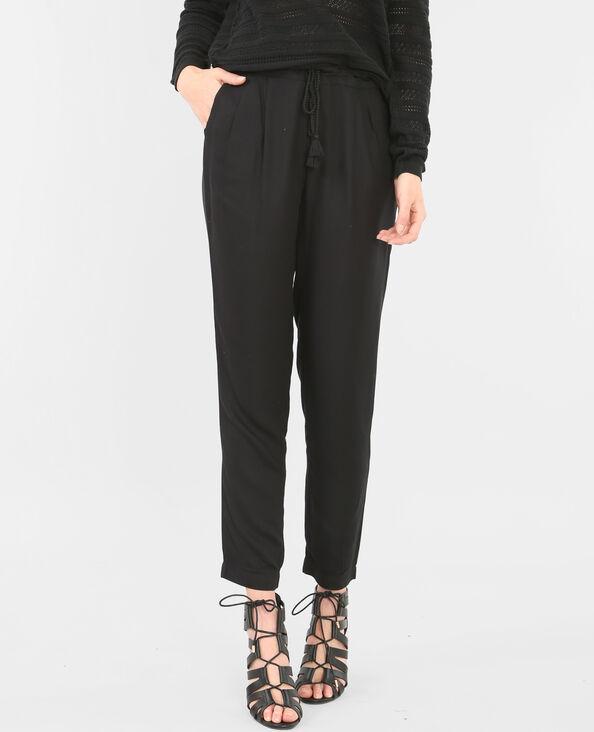 Pantalones de jogging vaporosos negro