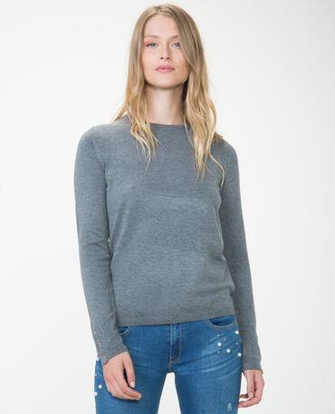 Jersey con automáticos gris