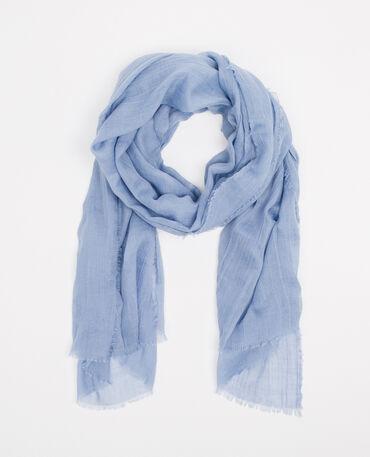 Foulard sottile blu cielo