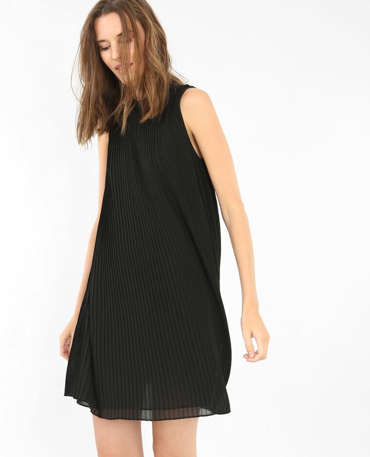 robe trap ze pliss e noir 780512899a08 pimkie. Black Bedroom Furniture Sets. Home Design Ideas