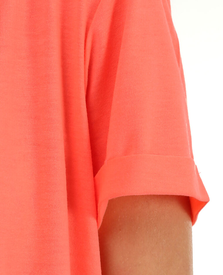 Sportliches Cropped-T-Shirt Orange