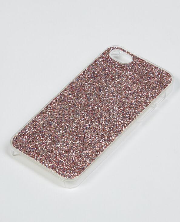 Glitzernde I-Phone-Schale Rosa