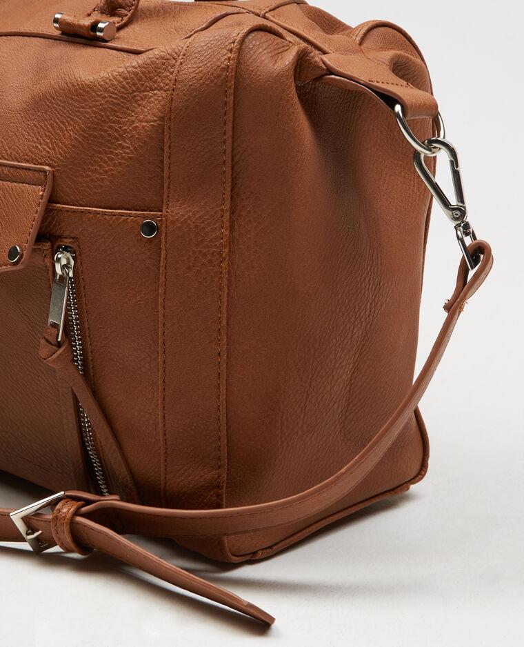 einkaufstasche mit rei verschluss orangebraun 10 902270721a07 pimkie. Black Bedroom Furniture Sets. Home Design Ideas