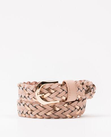 Cintura intrecciata rosa