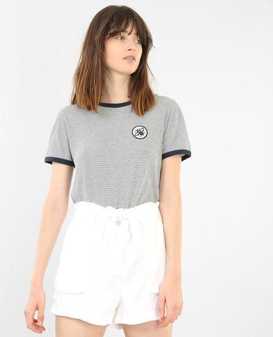 T-shirt à manches courtes blanc