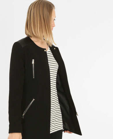 Summercoat zippé noir