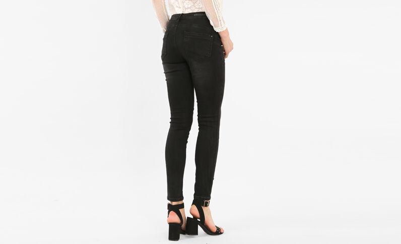 Jeans skinny push up nero