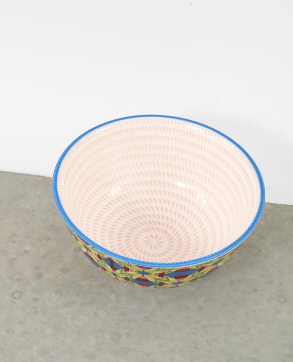 Cuenco de cerámica rosa