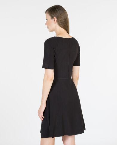 Trapez-Kleid Schwarz