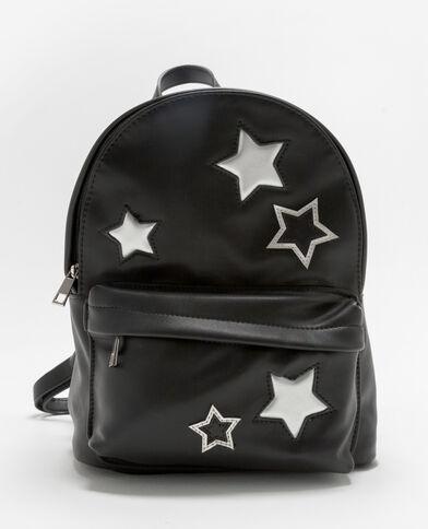 Mochila estrellas silver negro