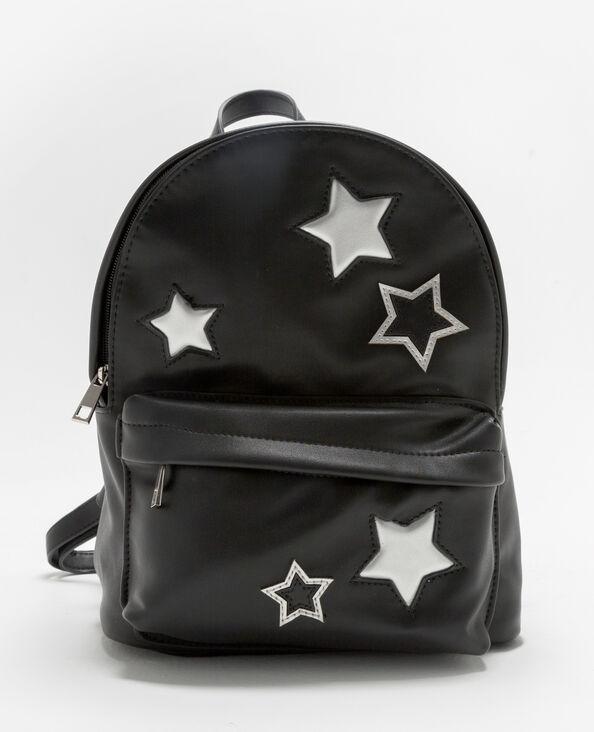 Sac à dos étoiles silver noir