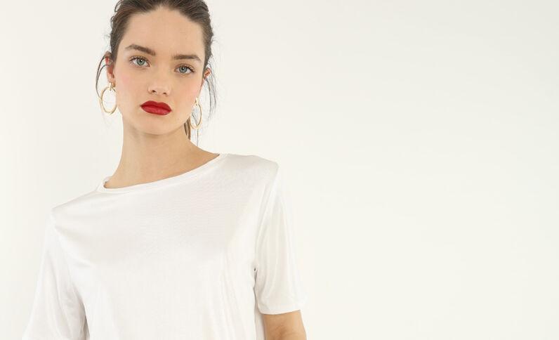 T-shirt irisé blanc