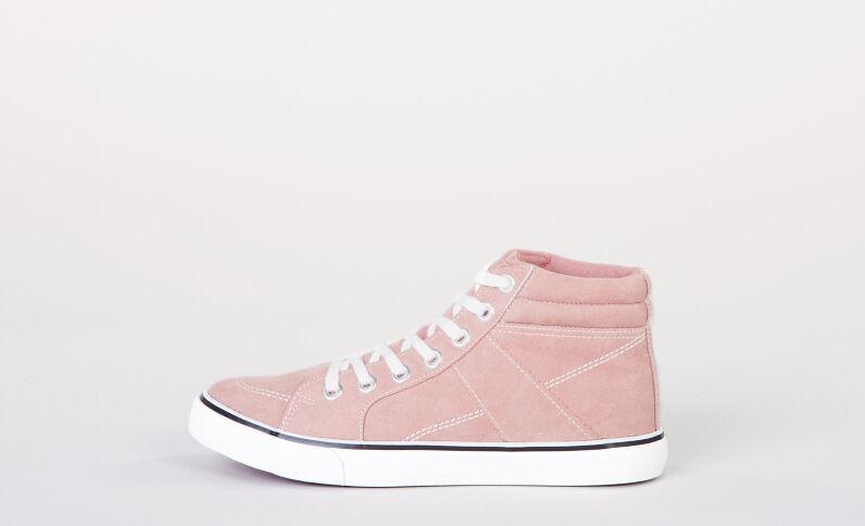 Scarpe da basket alte rosa cipria
