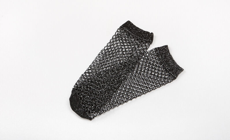 Netzstrümpfe Schwarz