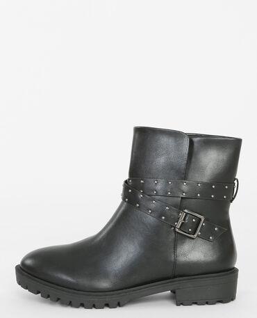 Boots biker noir