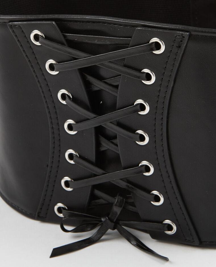 Ceinture corset noir