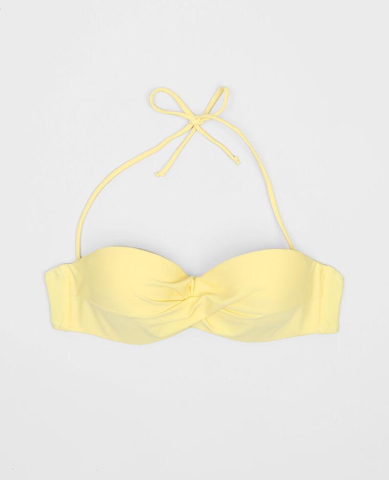 haut de maillot de bain jaune jaune 993105002a00 pimkie. Black Bedroom Furniture Sets. Home Design Ideas