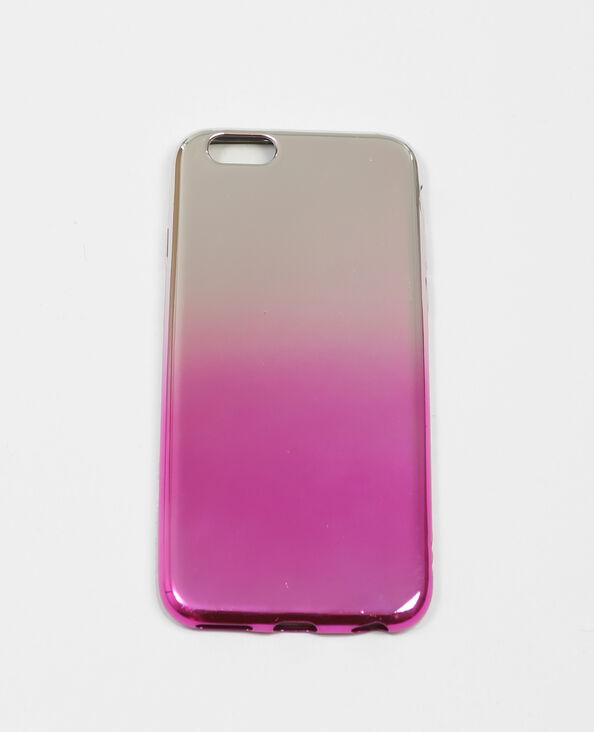 iPhone-hoesje in tie and dye-stijl zilvergrijs
