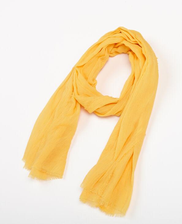 Feiner Schal Gelb