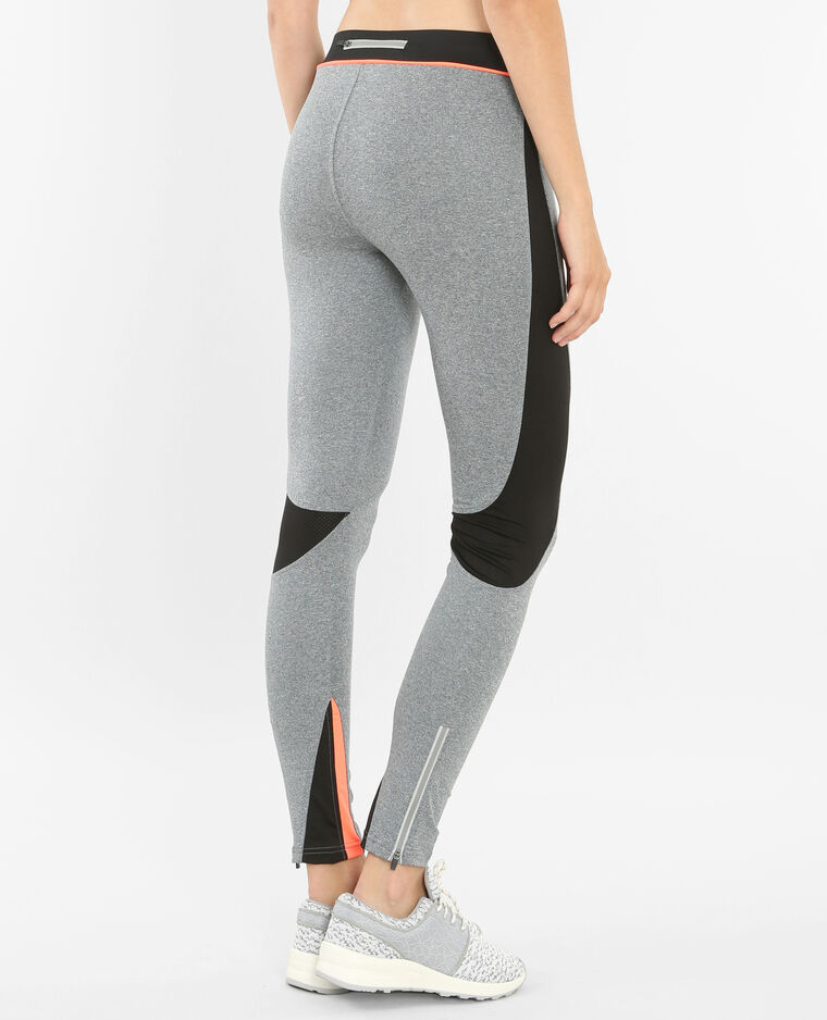 sport leggings grau meliert 140126830a0h pimkie. Black Bedroom Furniture Sets. Home Design Ideas