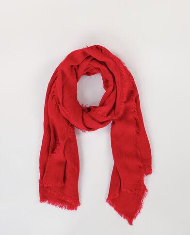 Dünner Schal Rot