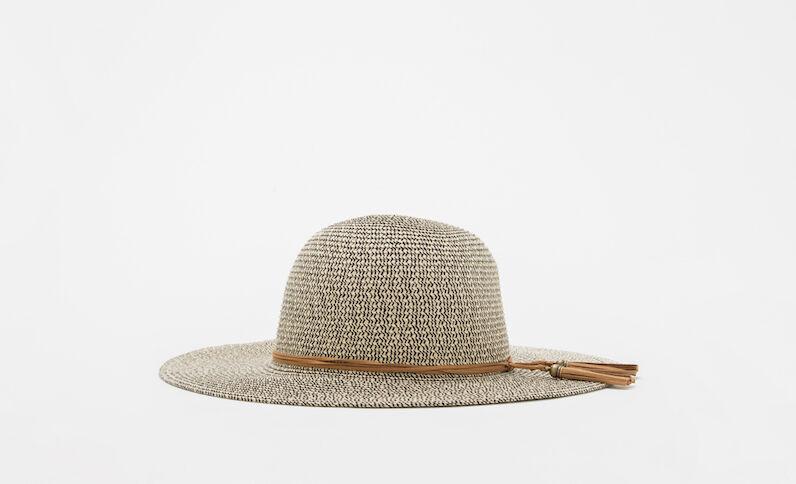 Hut aus Strohgemisch Hellbeige