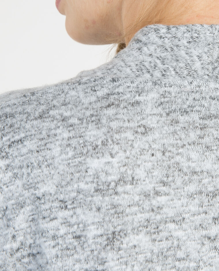 Chaqueta fina abierta gris