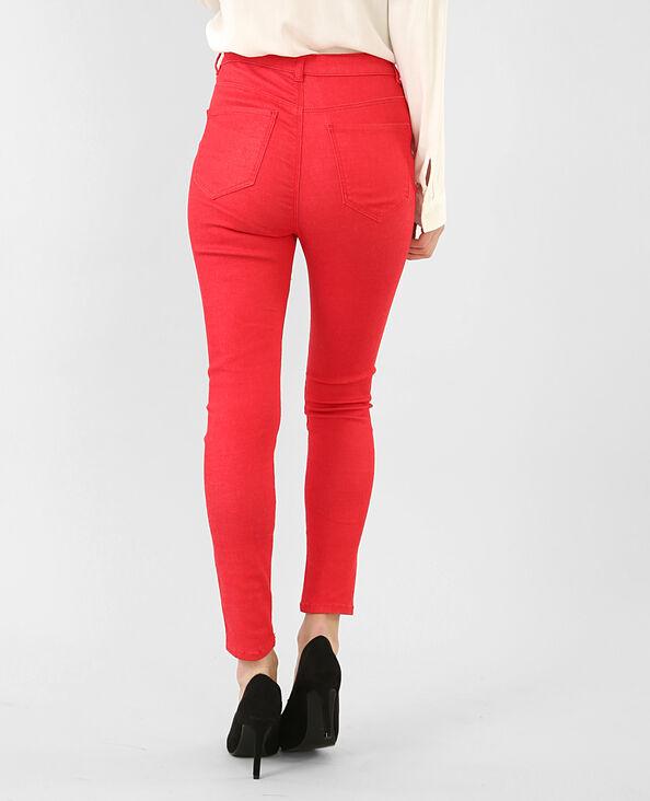Skinny 7/8 rouge