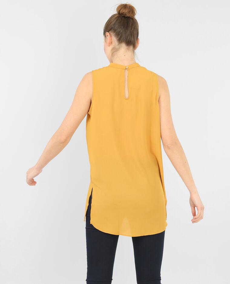 blouse fluide sans manche 567100037a00 pimkie. Black Bedroom Furniture Sets. Home Design Ideas
