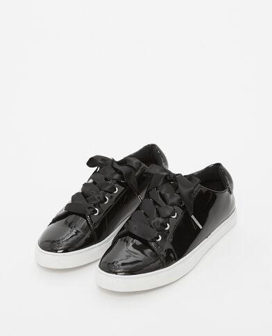 Scarpe da basket in vernice nero