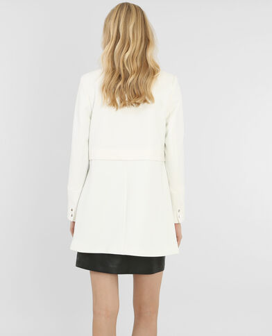Summer coat blanc cassé