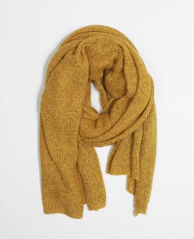 Echarpe tricot vert