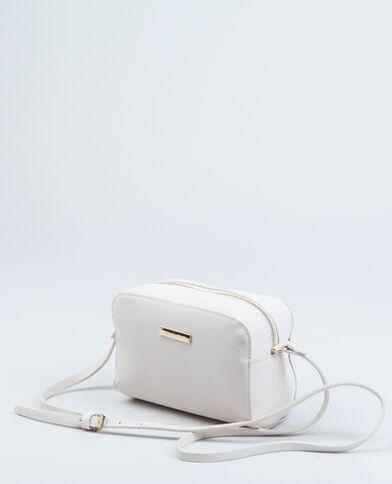 Boxy-Tasche Naturweiß
