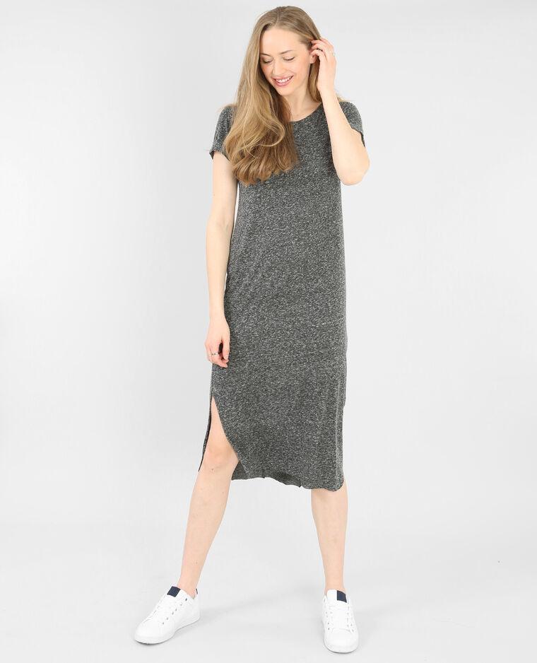 robe t shirt longue gris 781197817j08 pimkie. Black Bedroom Furniture Sets. Home Design Ideas
