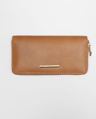 Geräumige Brieftasche Braun