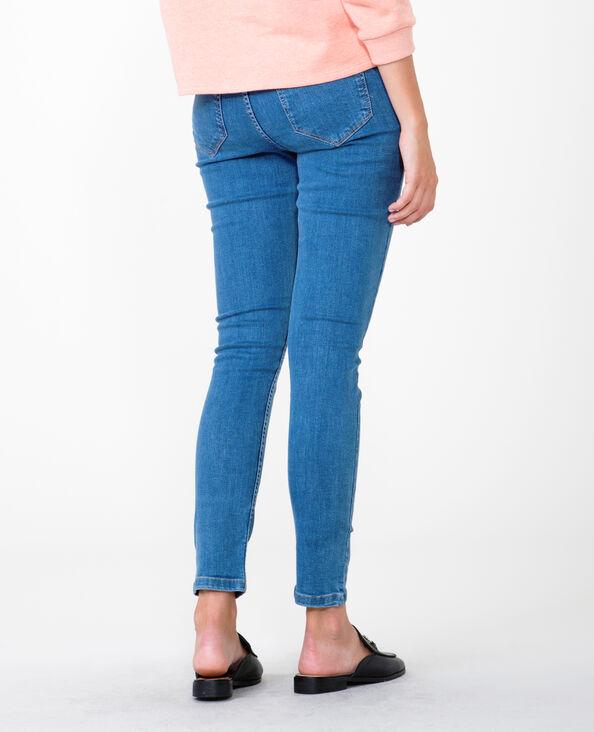 Skinny Jeans High Waist Denimblau