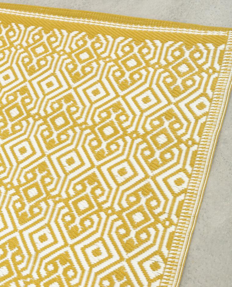 tapis en plastique jaune moutarde 907123036i89 pimkie. Black Bedroom Furniture Sets. Home Design Ideas