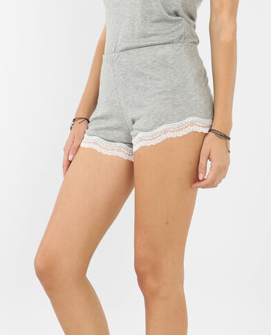 Homewear-Shorts Grau