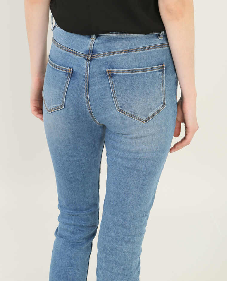 Jean skinny 7/8 bleu