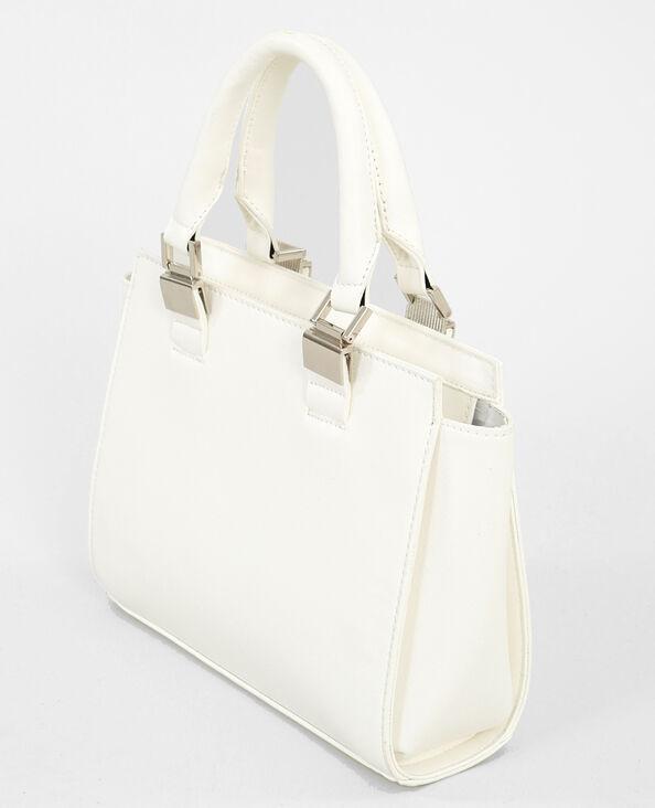 Boxy-Tasche in Weiß Weiß