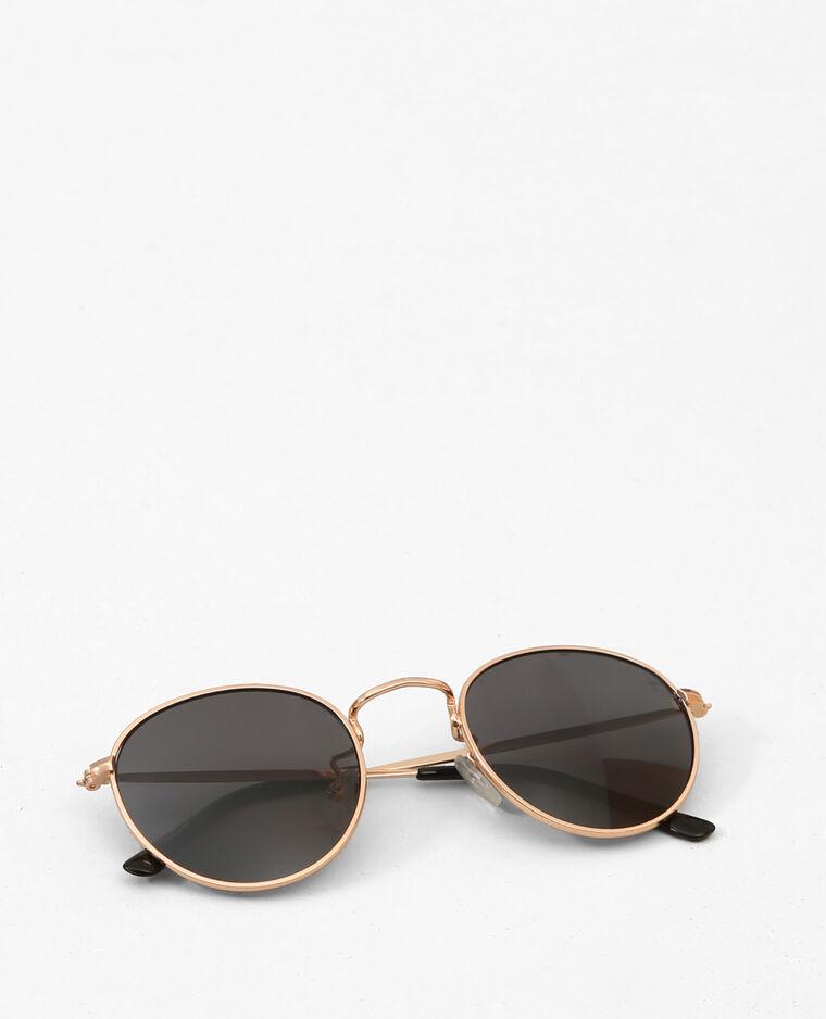 lunettes de soleil rondes dor 992046099a00 pimkie. Black Bedroom Furniture Sets. Home Design Ideas