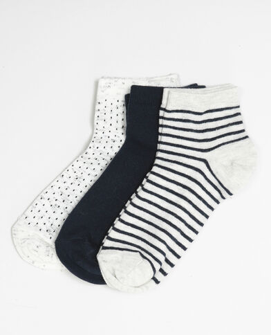 Lote de calcetines azul