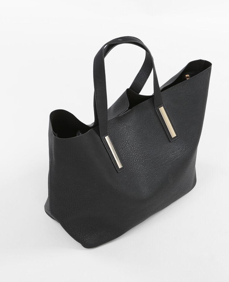 sac cabas souple noir 983083899a08 pimkie. Black Bedroom Furniture Sets. Home Design Ideas