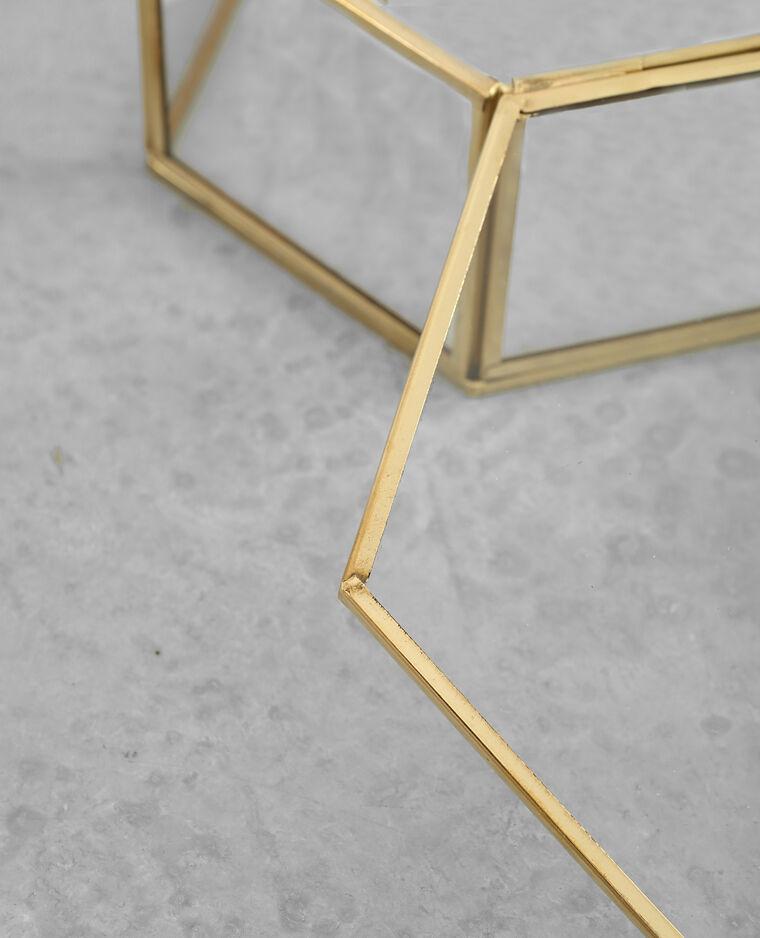 Grande boîte à bijoux doré