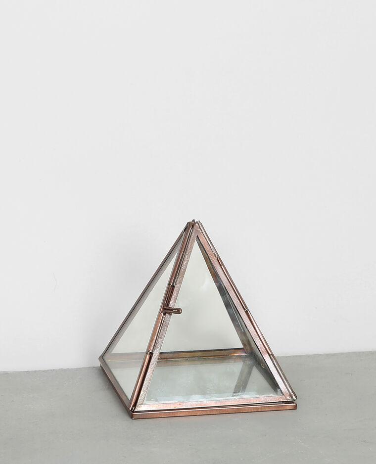 petit terrarium pyramide bronze 975010897a0g pimkie. Black Bedroom Furniture Sets. Home Design Ideas